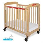 Foundations Evacuation Crib Fixed-Side, Clearview, includes evacuation frame (Natural) 1932047