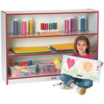 RAINBOW ACCENTS® SUPER-SIZED ADJUSTABLE BOOKCASES