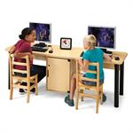 Jonti-Craft Dual Computer Lab Tables - 3344JC051