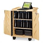 Jonti-Craft Laptop and Tablet Storage Cart - 3400JC