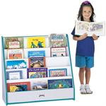 FLUSHBACK PICK-a-BOOK STANDS 1 SIDED - RAINBOW ACCENTS - Jonti-Craft 3514JCWW003