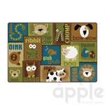 Animal Sounds Toddler Rug - Nature - Carpets for Kids