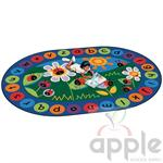 Ladybug Circletime Oval Rug - Carpets for Kids
