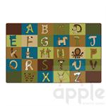 A to Z Animals - Nature - Carpets for Kids