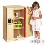 ECR4Kids Play Kitchen - Refrigerator ELR-0433