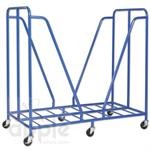 ECR4Kids Rest Mat Trolley - Blue  ELR-0668