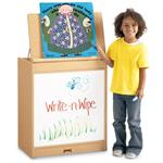 Jonti-Craft MapleWave Big Book Easel - Write-n-Wipe - 0543JC011