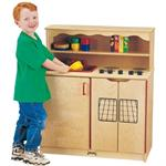 Kids Play Kitchen, Wood Play Kitchen 0273jc