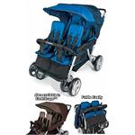 Foundations LX4 4-Passenger Stroller 4140037 (Blue)