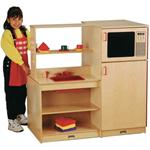Wood Play Kitchen, play kitchen for kids